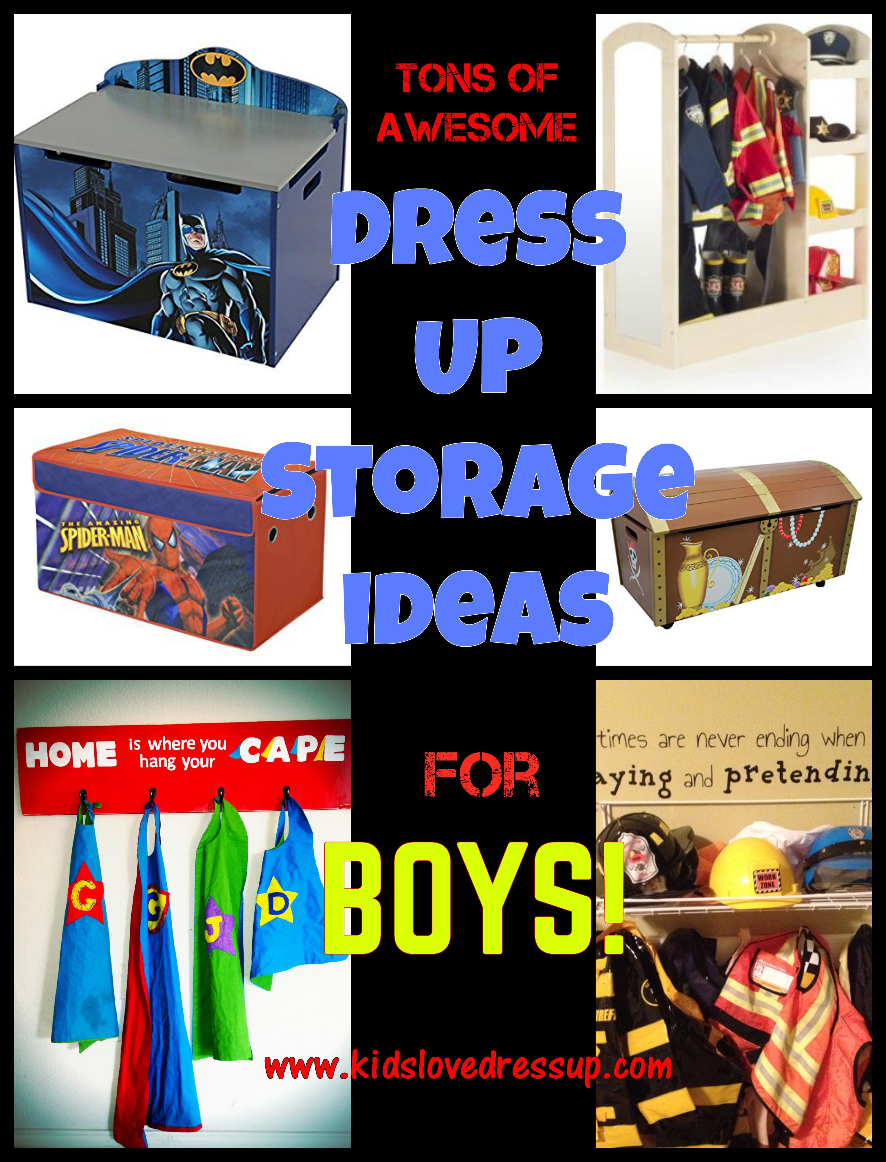 Attractive Tons Of Awesome Dress Up Storage Ideas For Boys! Check Out This Post At Www