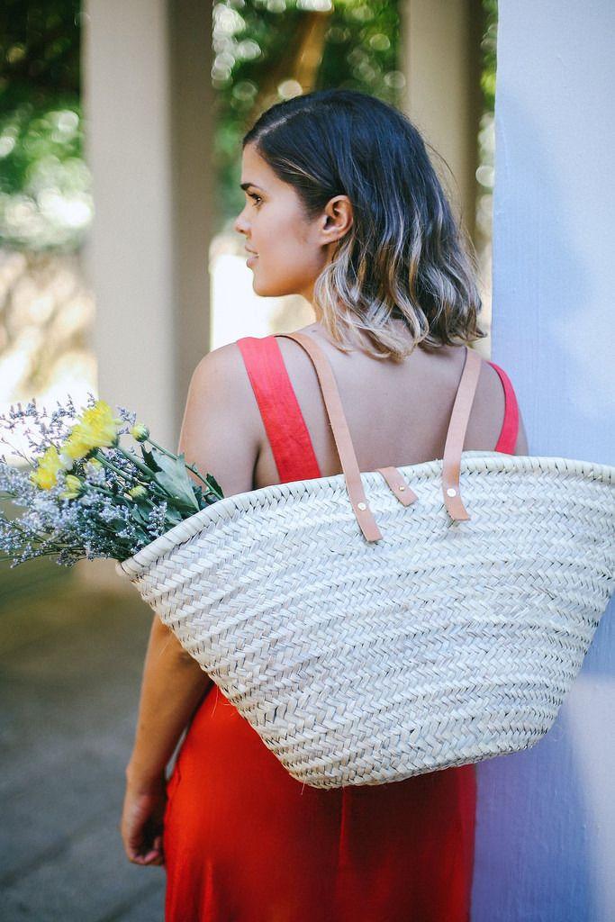 DIY Woven Market Backpack