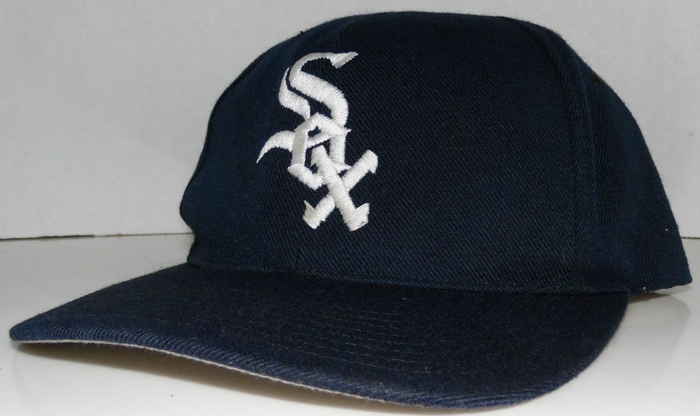 Chicago White Sox MLB Vintage 90's Sport Specialties Snapback Hat NWA Easy E #SportSpecialties #ChicagoWhiteSox