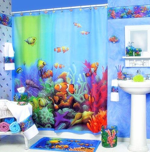 23 unique and colorful kids bathroom ideas bathroomideas - Bathroom Decorating Ideas For Kids