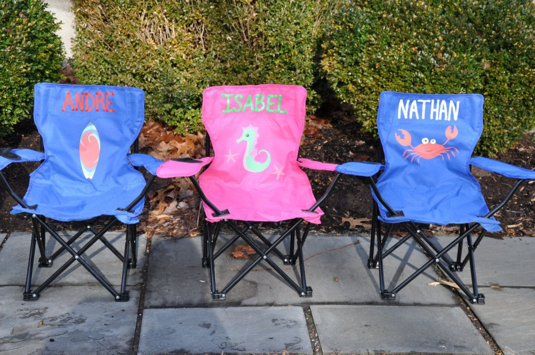 Personalized Camping Chair Best Spray Paint For Wood Furniture