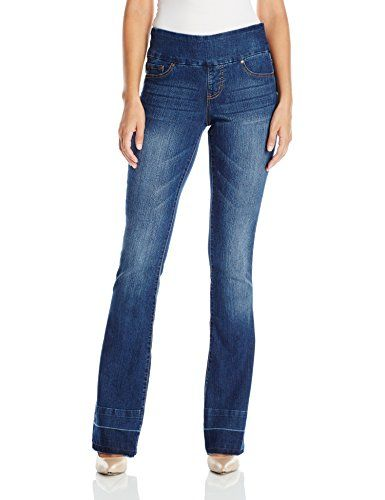 Jag Jeans Womens Ella Pull on Flare in Comfort Denim Durango Wash 4Xreg ** You can find more details by visiting the affiliate link Amazon.com.