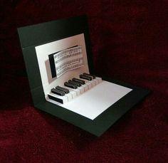 Geburtstag Karte Musik Geschenk Pinte