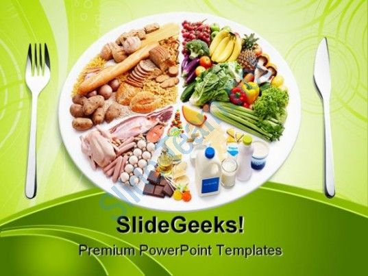Awesome Corporate Slides Showing Balance Diet Food Powerpoint