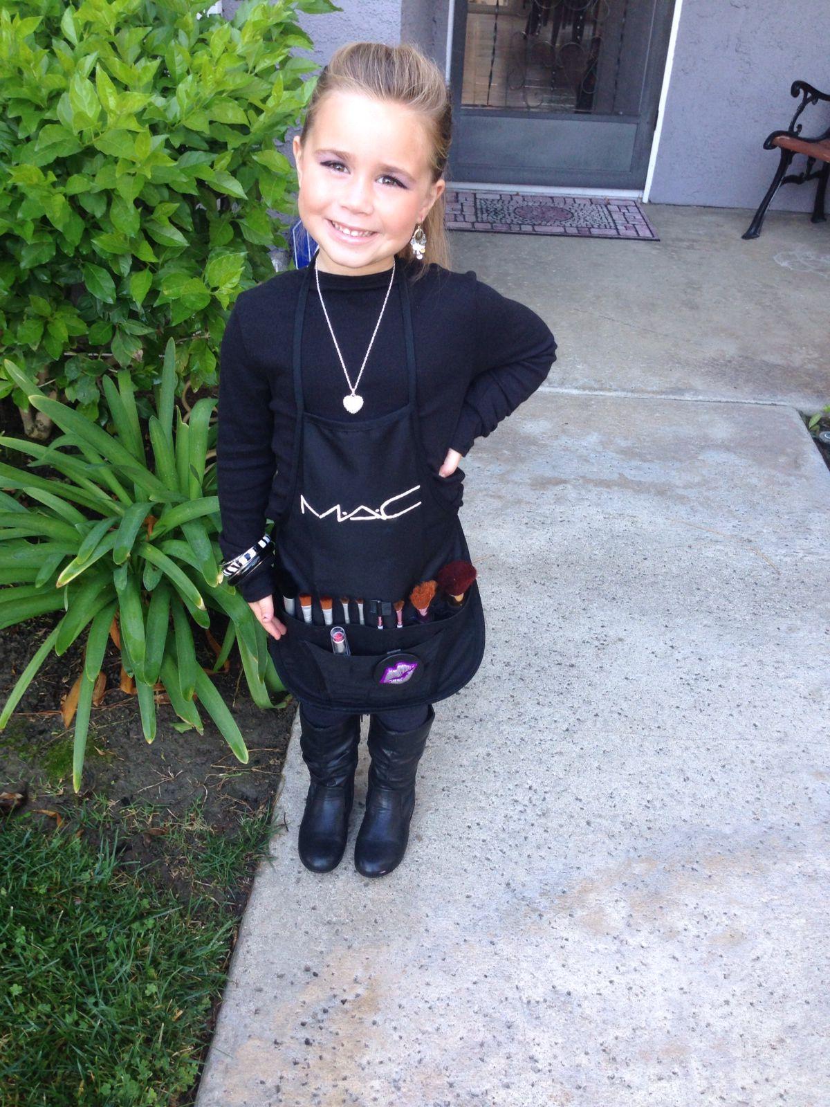 Halloween Costume Mac Girl Make up Artist | For The Future ...