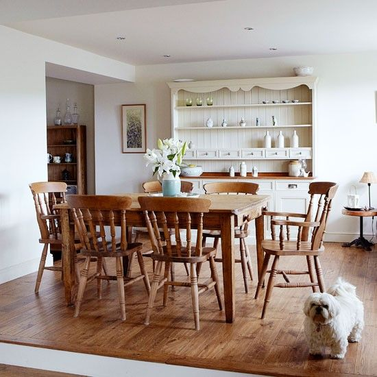 Country Dining Room Decorating Ideas Wood-rich-country-dinign-room