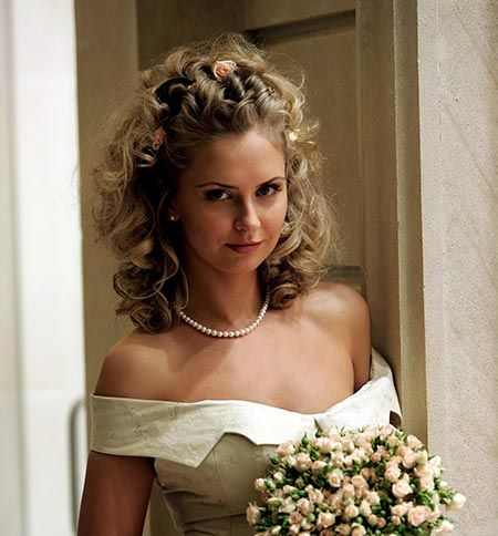 Half Updo Wedding Hairstyles For Straight Or Curly Hair