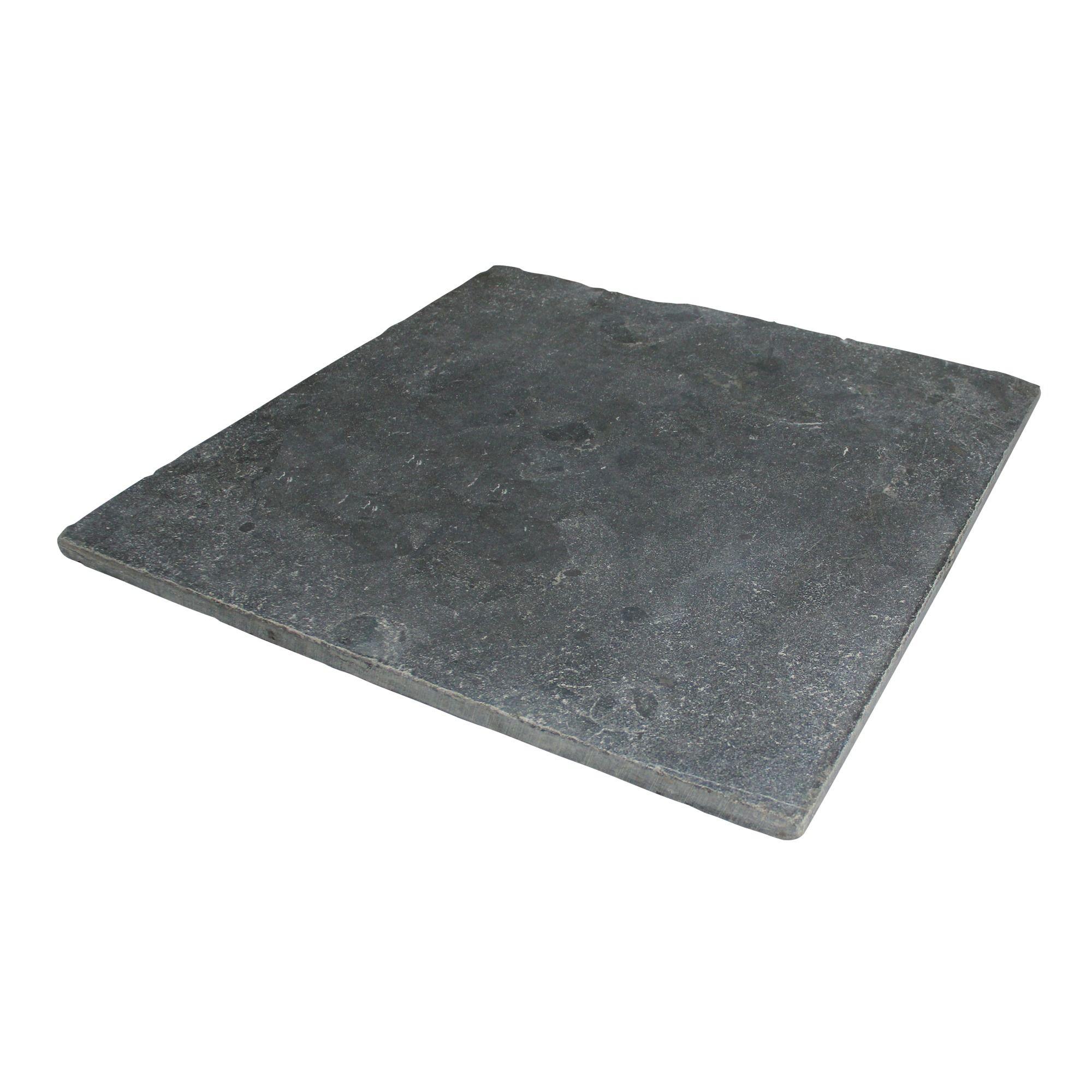 Natuursteen Tuintegels 60x60.Terrastegel Natuursteen Verouderd Blauw 60x60 Cm 50 Tegels