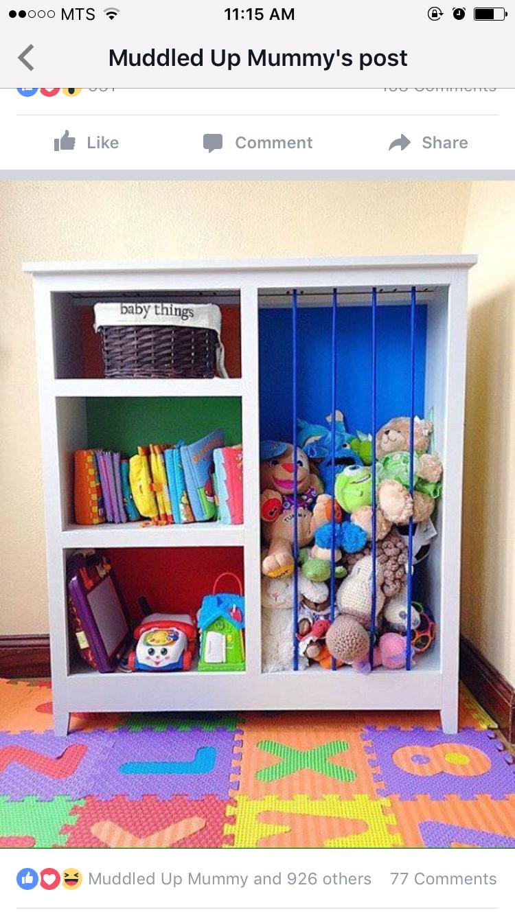 Bookshelf Stuffed Animal Organization Storage Bookshelves Kids
