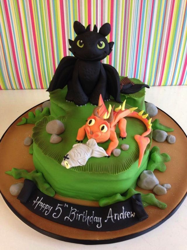 How To Train Your Dragon Cake Decorations Uk