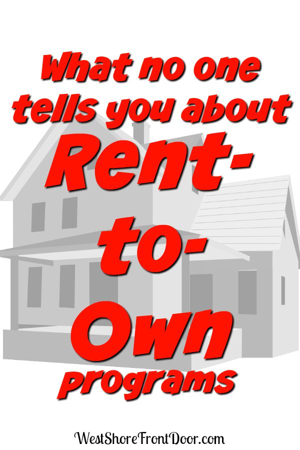 Is a Rent-to-Own program right for you? Read this first - rent with option to buy contracts