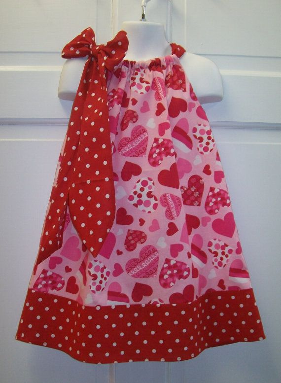 ca0c087814c84 this is so cute! Pillowcase dress. Want to make these for the girls!