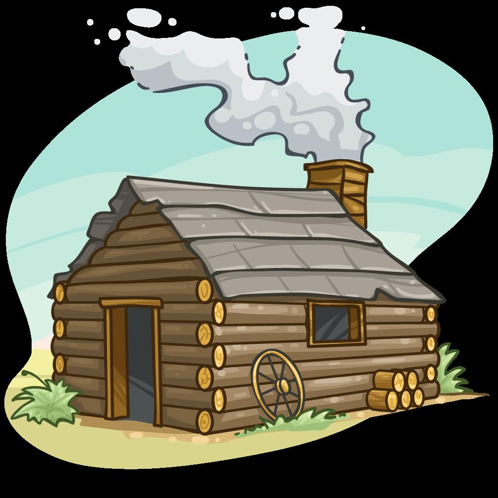 Image Result For Winter Log Cabin Cartoon Clip Art Cartoon Clip Art Cartoon Pics Image House
