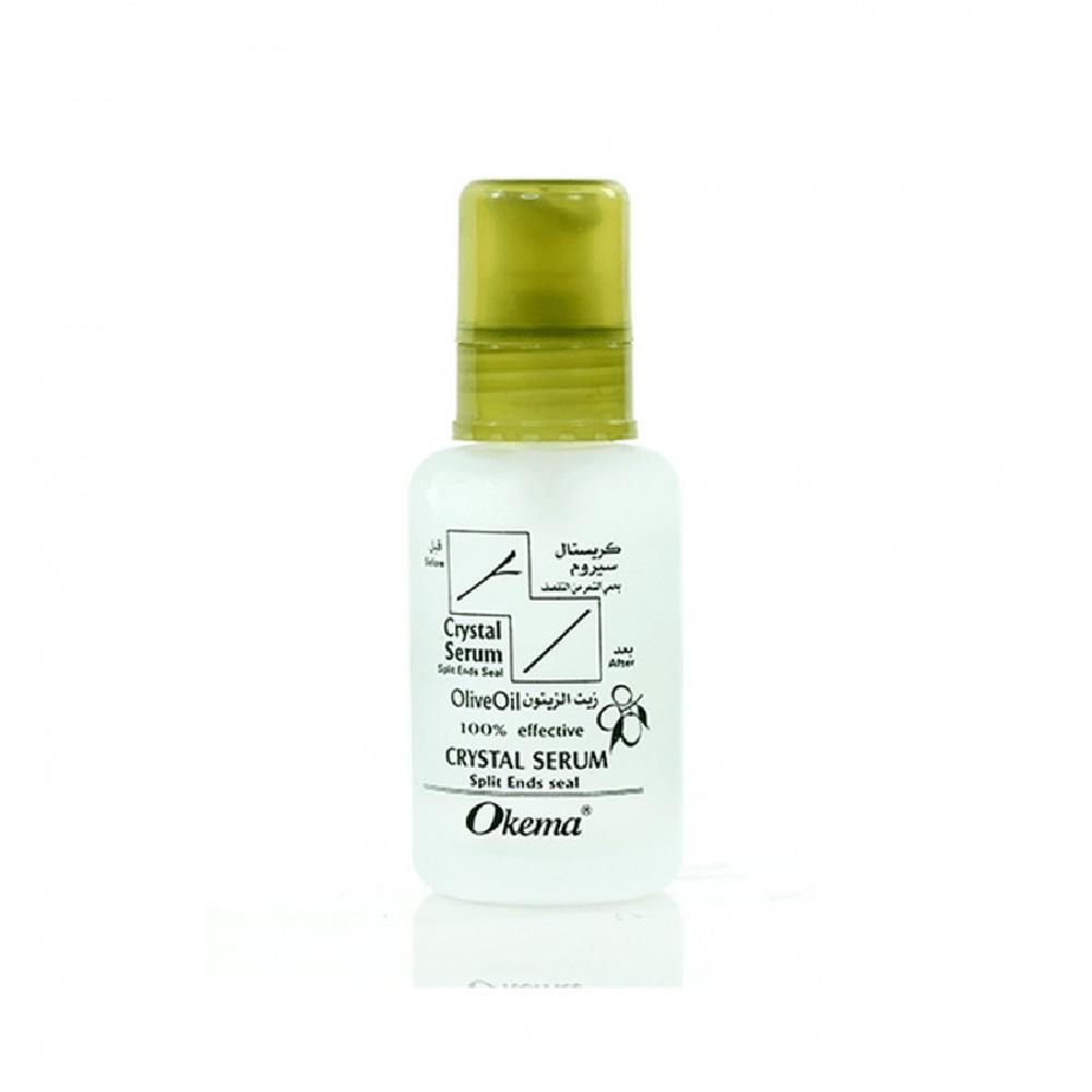 سيروم كريستال بزيت الزيتون من اوكيما 60 مل متجر راق Shampoo Bottle Crystals Bottle