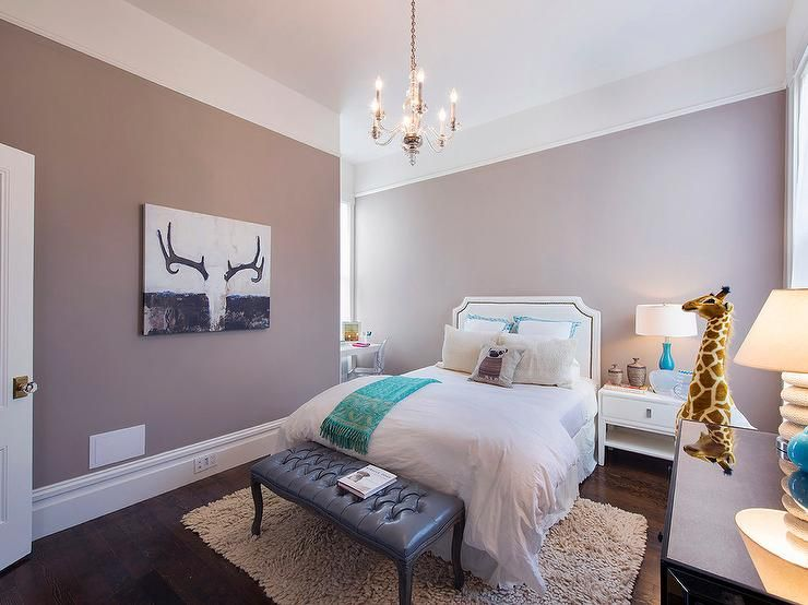 Mauve bedroom features a mauve velvet bed accent with mirror trim dressed  in gray sheepskin pillows flanked by antique nightstands and gold leaf  mirrors  White and mauve teen girl s bedroom features walls painted  . Mauve Bedroom. Home Design Ideas