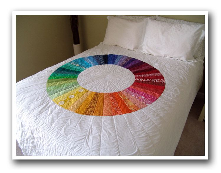 Colour Wheel Quilt I M Looking At You Willa For The Home