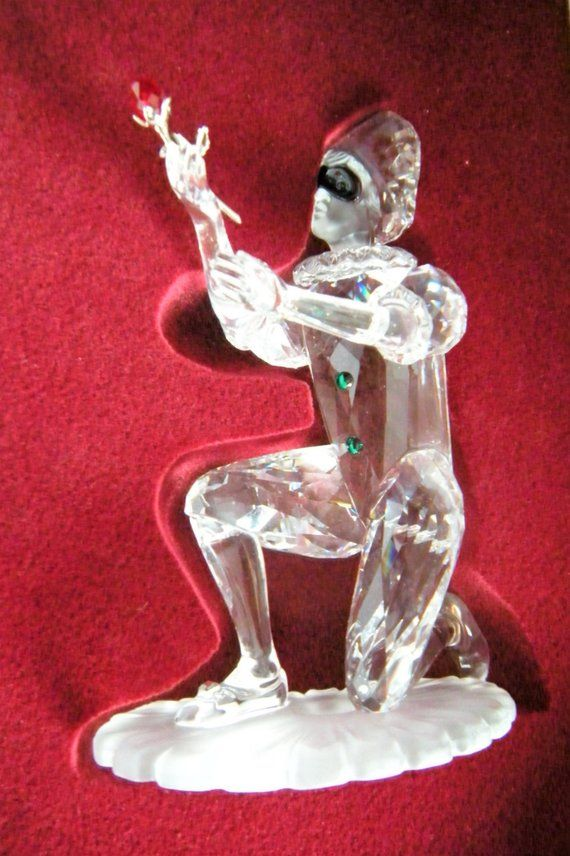 d89a29aab Swarovski Crystal Society SWC Annual Edition Figurine - Harlequin -  Masquerade Triology - Retired