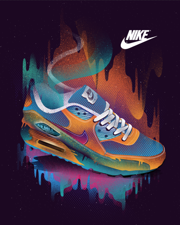 new style 5aaa2 2fa65 NIKE AIR MAX Tee Space Design by Dan Elijah Fajardo, via Behance
