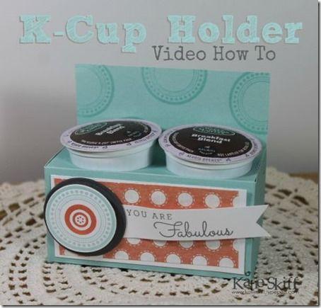 Cute K Cup Holder Teacher Gift Idea K Cup Crafts K Cup Holders Teacher Gifts