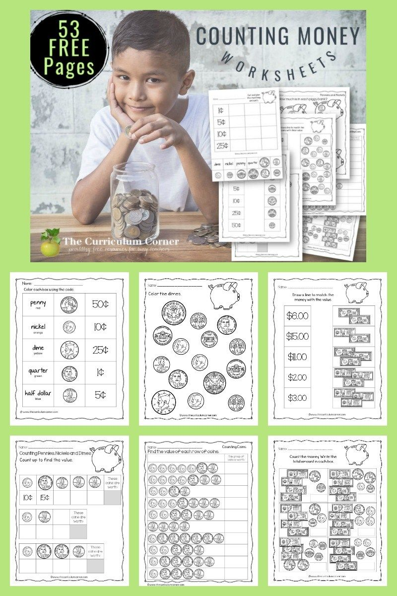 Free Counting Money Worksheets Money Worksheets Counting Money Counting Money Worksheets [ 1200 x 800 Pixel ]