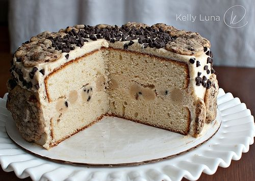 cookie dough cake food
