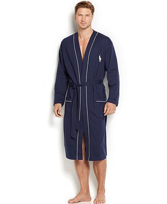 Polo Ralph Lauren Men s Cotton Jersey Robe - Pajamas ba01b60f8