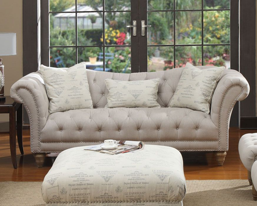 Room · Sofa U3164 00 09 Hutton Linen, Furniture Factory Direct Living ... Part 11
