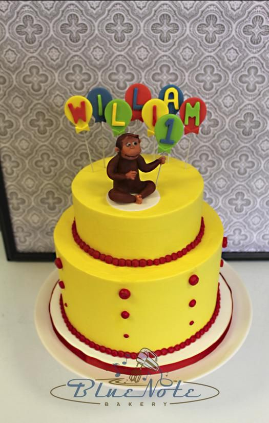 Curious George 1st Birthday