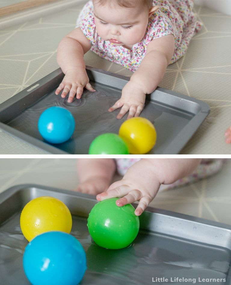 Baby play ideas at 5 months baby sensory play baby play