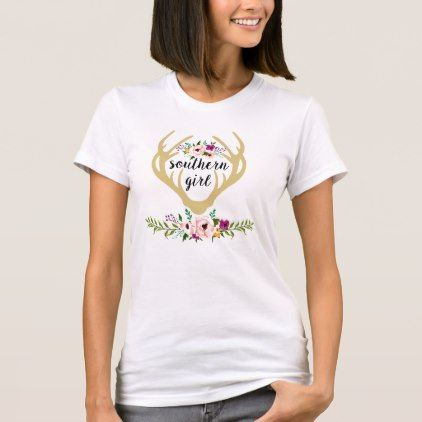 T Shirt Southern Buck Horns Gifts Special Unique Diy Gift Idea