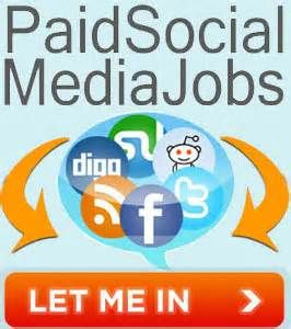 Get Paid To Mess Around On Facebook And Twitter. Hottest New Work At Home Trend! Get in NOW!! http://paidsocialmediajobs.com/pages/join/?hop=joejoekeys&vtid=