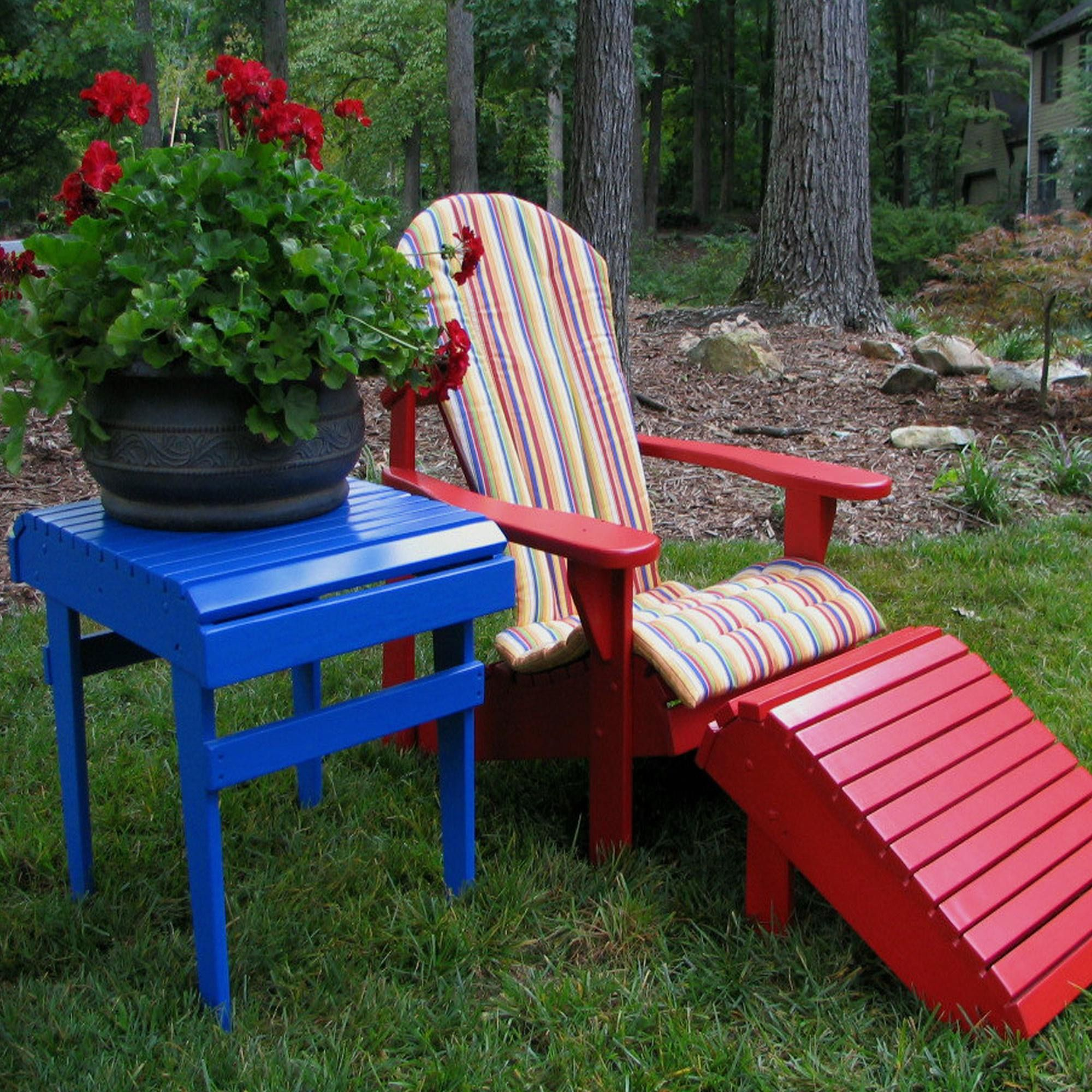 Explore the different scatter cushions adirondack chair