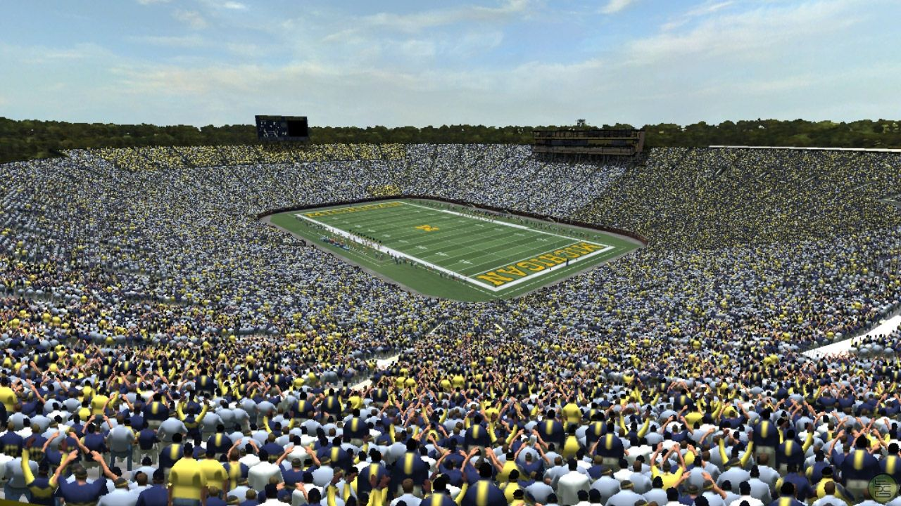 Michigan Stadium Also Known As The Big House Currently Still Is