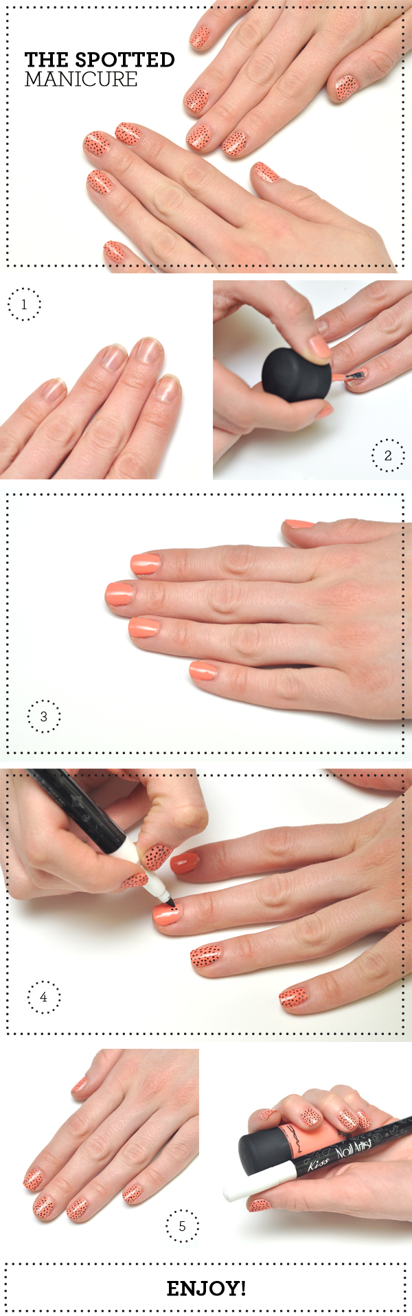 The Spotted Manicure // http://wp.me/p1q59G-1bj