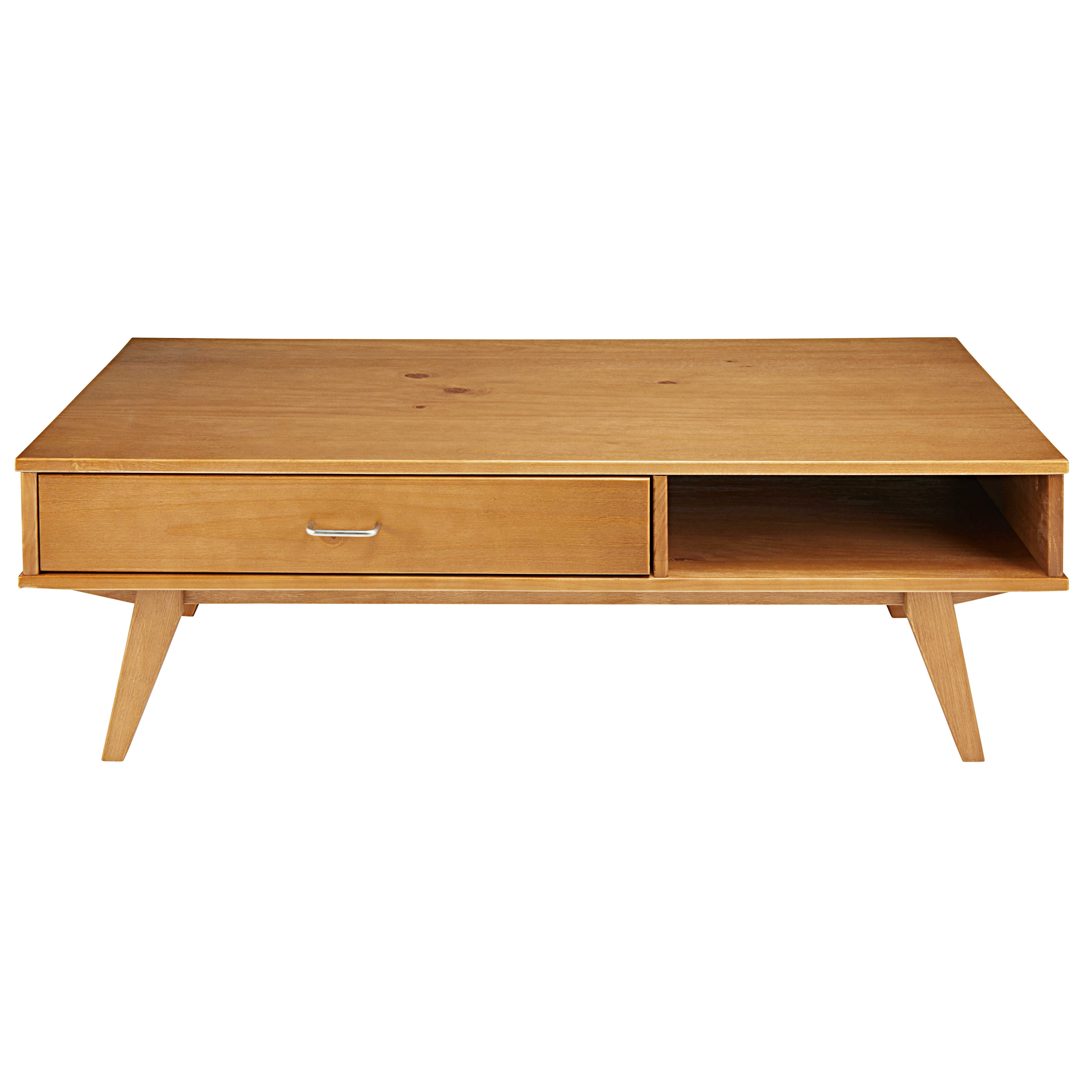 Table Basse 1 Tiroir Paulette Meuble Tv Pinterest Wood Couchtisch Loca