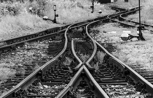 Weichen, Schmalspurbahn, JHMD