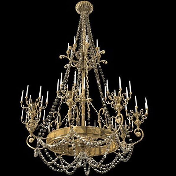 3d model chandelier candles 3d model lighting pinterest 3d model chandelier candles 3d model aloadofball Choice Image
