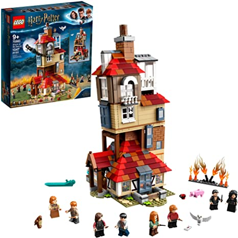 Lego Harry Potter Attack On The Burrow 75980 Building Kit Toys Games Harry Potter Lego Sets Harry Potter Death Lego Harry Potter
