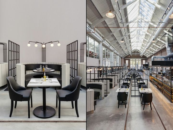 meat west restaurant by framework studio amsterdam netherlands retail design blog commercial interior - Commercial Interior Design Blog