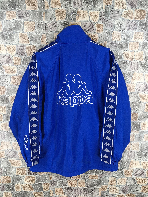 Kappa Track Jacket Medium Streetwear Vintage 90 S Kappa Italia Windbreaker Sportswear Trainer Sports Kappa Blue R Kappa Clothing Streetwear Jackets Street Wear [ 3000 x 2250 Pixel ]