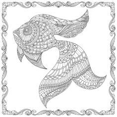 Coloring Pages For Adults Sea Animals