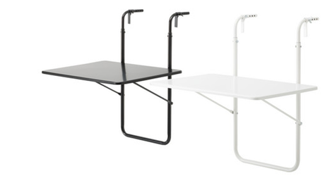 Balcony Table Ikea Inside Out Balcony Furniture