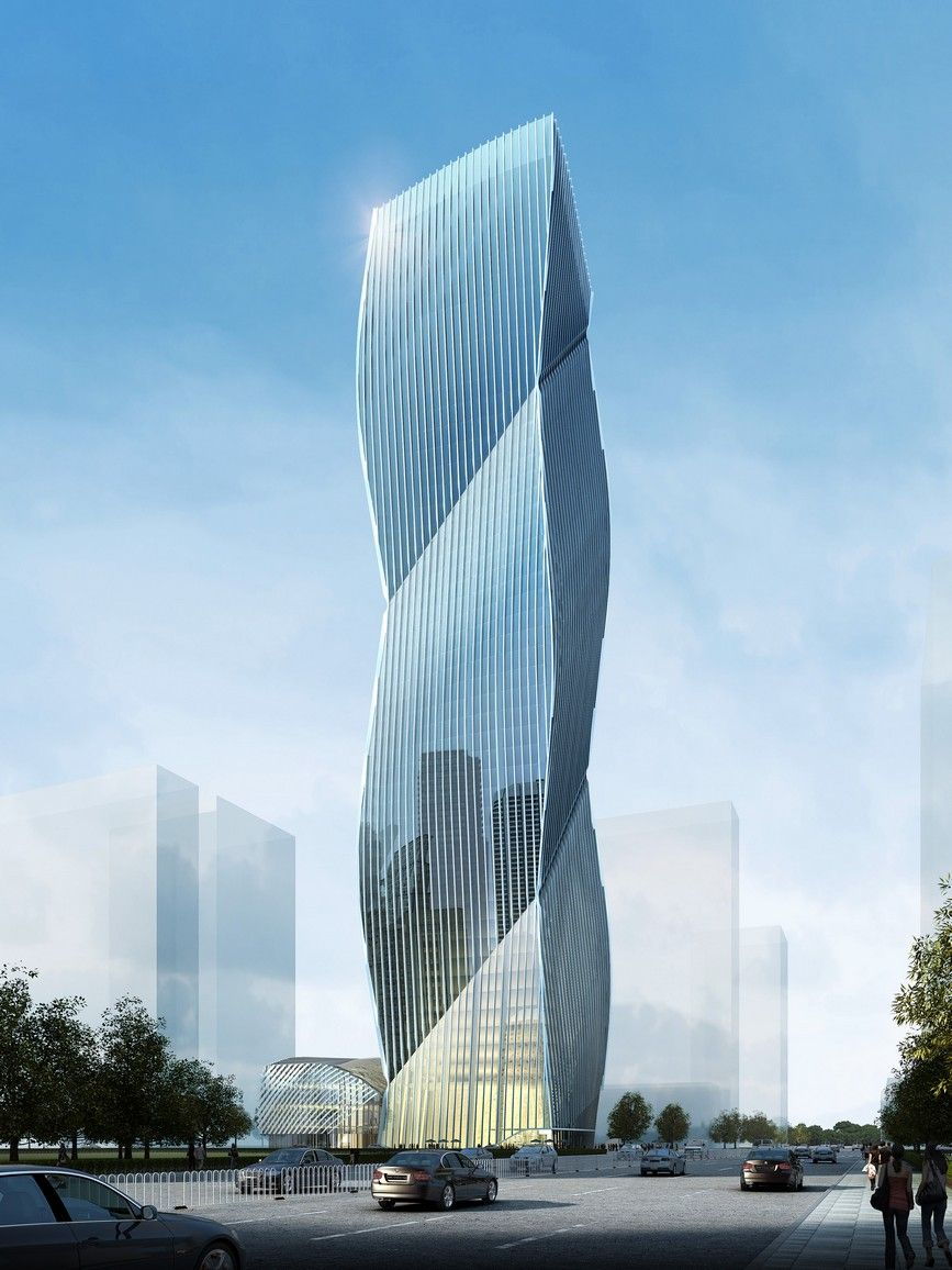 Tower Excellence Archello Architecture Building Glass Modern Facet Design