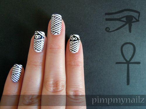 pimpmynailz halloween  #nail #nails #nailart