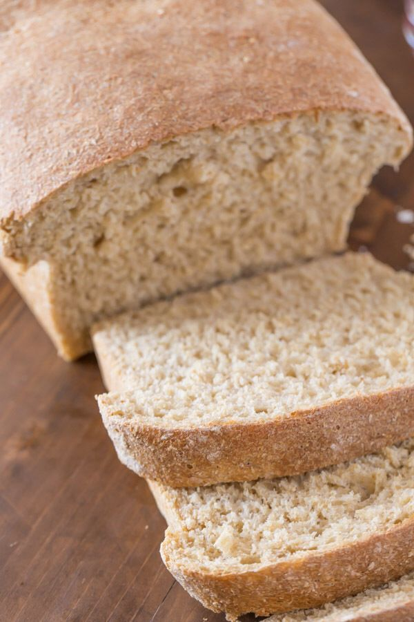 Easy whole wheat bread recipe without yeast