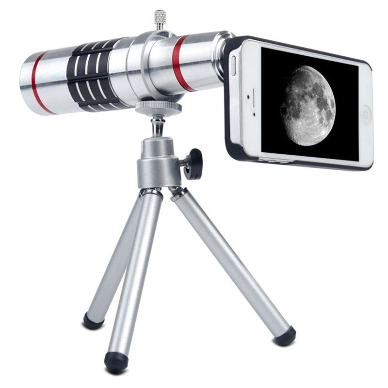Universal Phone Lenses Kit 18x Zoom Telescope Telephoto