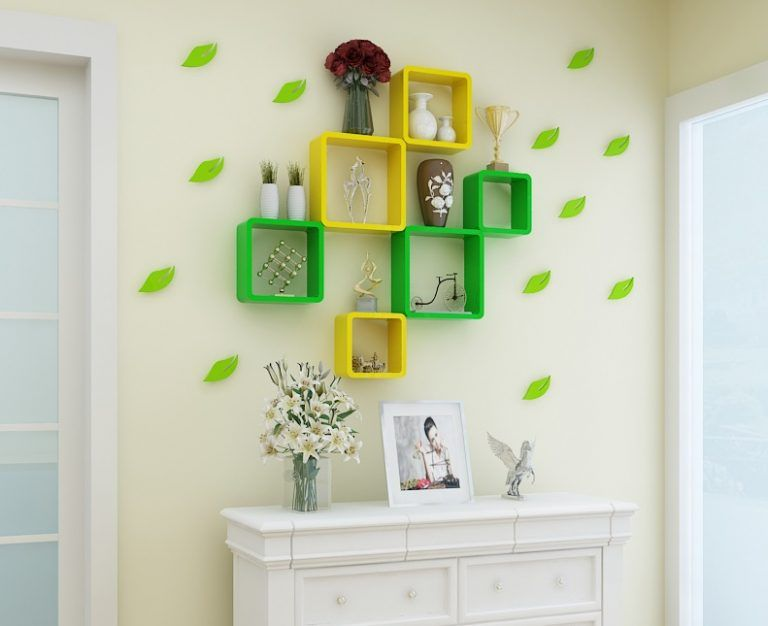15 Square Shelves Wall Decor That Defines Beauty Top