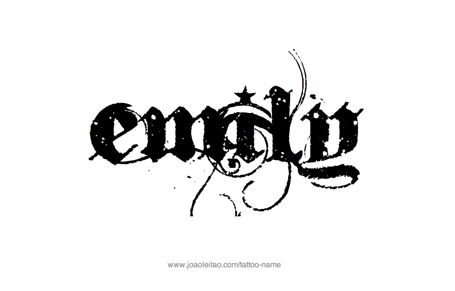 Emily Name Tattoo Designs Name Tattoo Designs Name Tattoo Tattoo Designs