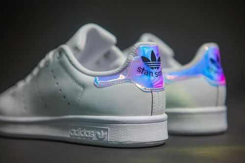 Adidas Stan Smith Classic Metallic Silver Running White