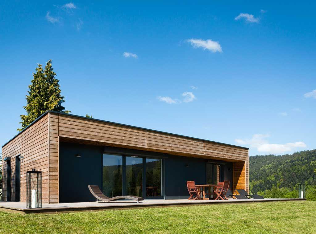 La Chaleur De L Hiver Architecture Bois Magazine Maisons Bois